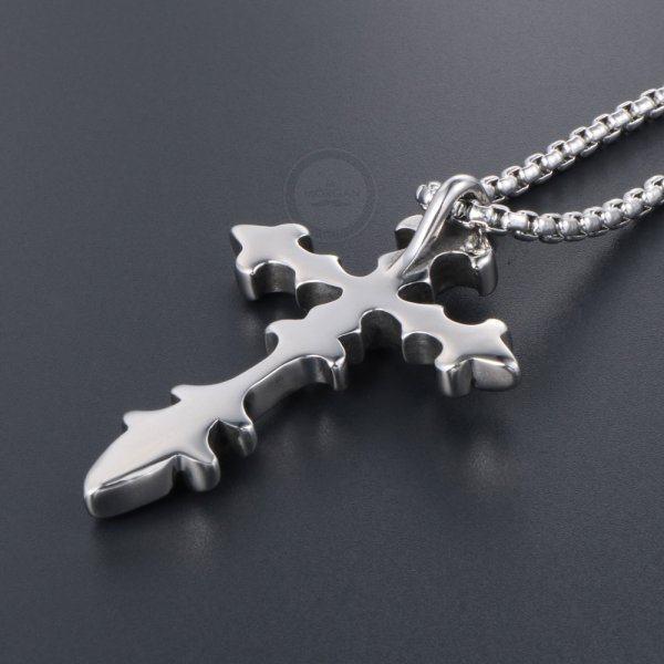 Крест стальной K274