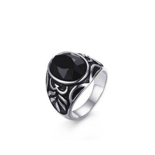 Перстень с ониксом R180