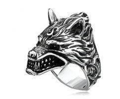 Печатка с волчьей пастью R182