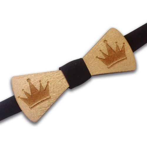 Бабочка деревянная King BD27