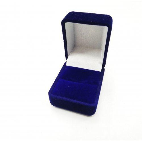 Коробка под кольцо маленькая из бархата PK013