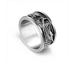 Кольцо в виде дракона R8052