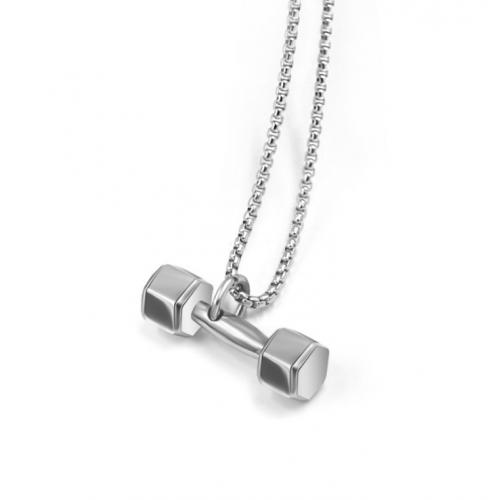 Кулон Гантелька кубическая K131
