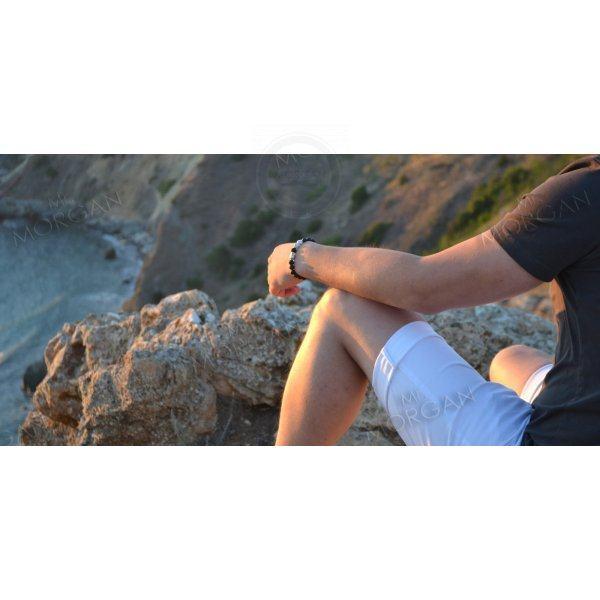 Браслет Сансара 2 из вулканического камня