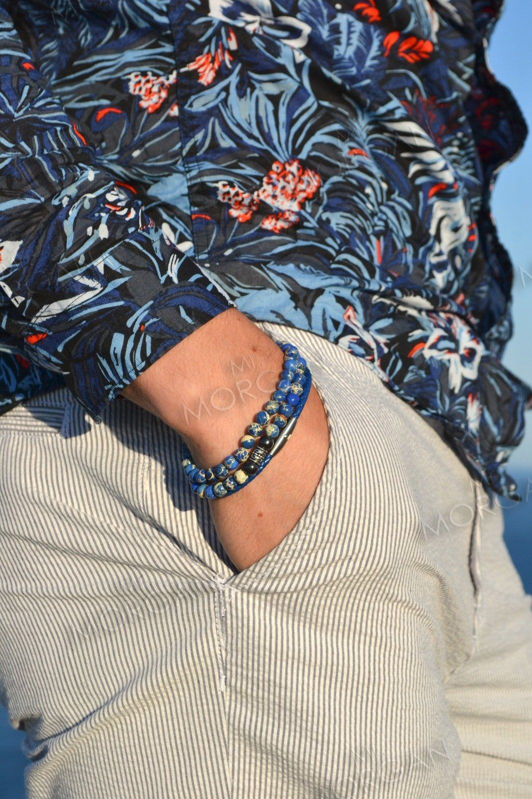 Мужские браслеты Шамбала