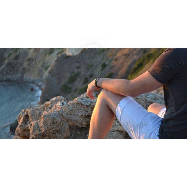 Эльбрус сет браслетов с вулканическим камнем