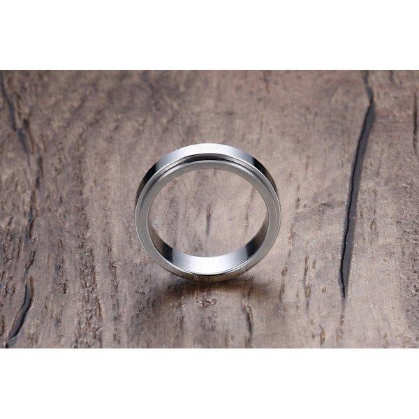 Кольцо антистресс из стали базовое R140