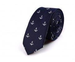 Marcello галстук с якорем NT31