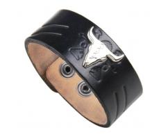 Таурус браслет из кожи QB229