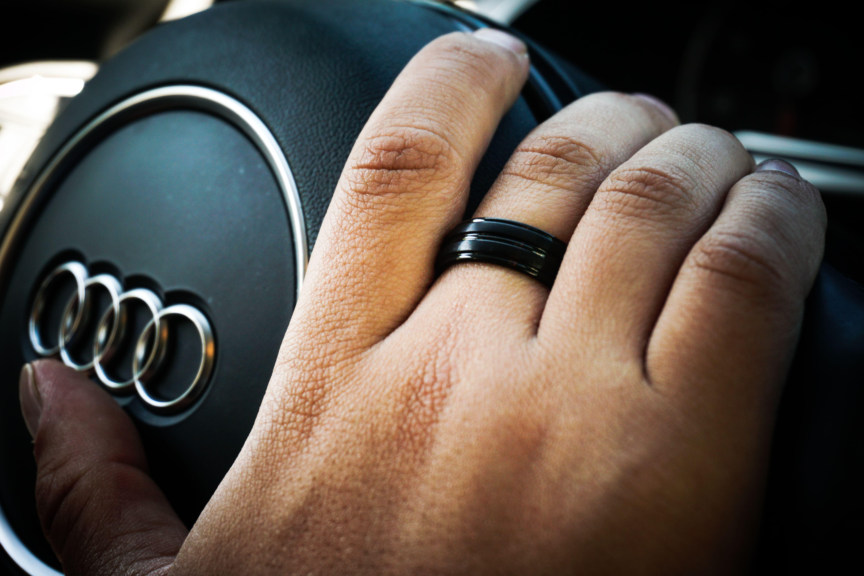 Купить титановые кольца мужские