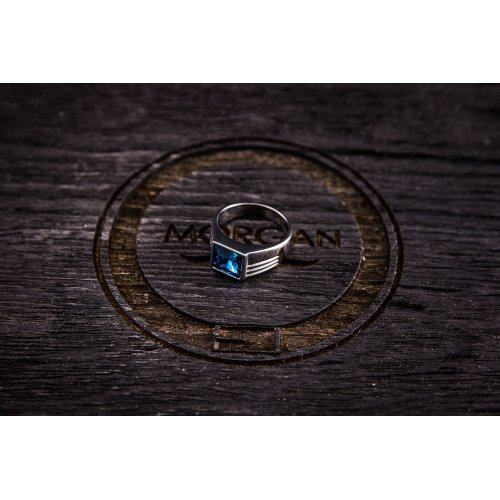 Печатка с синим камнем