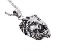 Кулон с головой льва K267