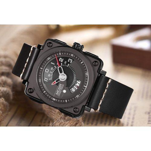 Часы наручные мужские Megir Squat W0049