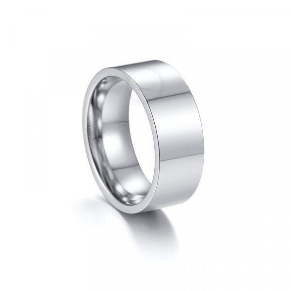 Кольцо широкое базовое R243