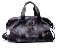 Дорожная сумка из текстиля камуфляж SM402