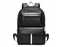 Рюкзак из кожи и текстиля SM651