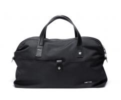 Дорожная сумка из текстиля черная SM771