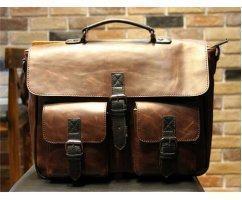Портфель Mr. MORGAN с боковыми карманами SM1016