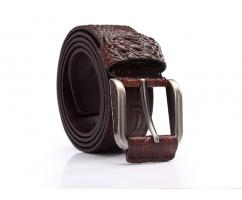 Мужской ремень из натуральной кожи для джинс крокодиловый RB451