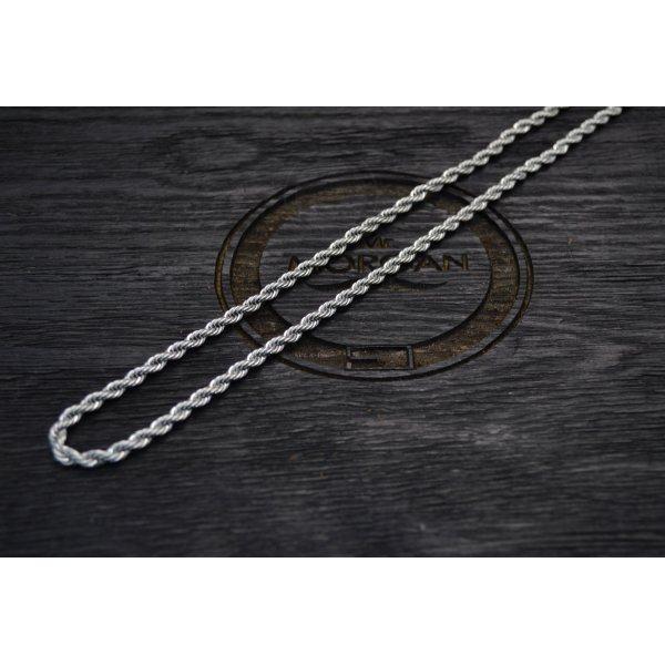 Цепочка веревочного плетения из стали