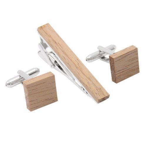 Зажим для галстука деревянный Кеней