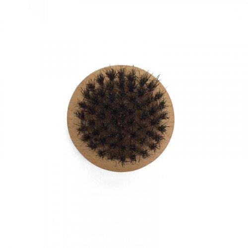 Круглая щетка из щетины кабана HB093