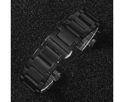 Ремешок стальной черный ST234
