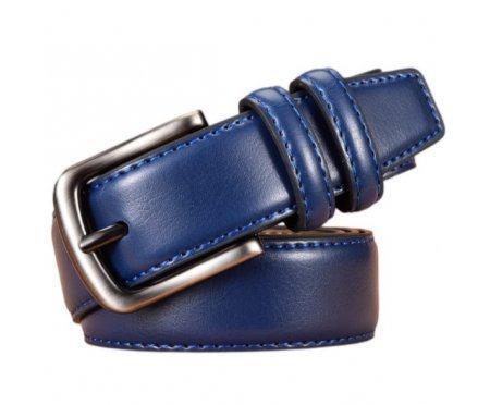 Knapton кожаный ремень синий RB2462