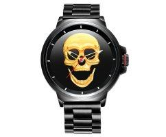 Часы Skone Skull black W098