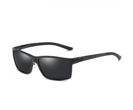 Очки солнцезащитные алюминиевые Black snowfall  SGP6519