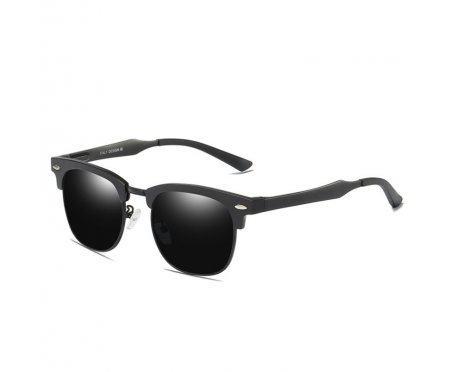 Очки солнцезащитные алюминиевые Black drizzle  SGP8558-C1