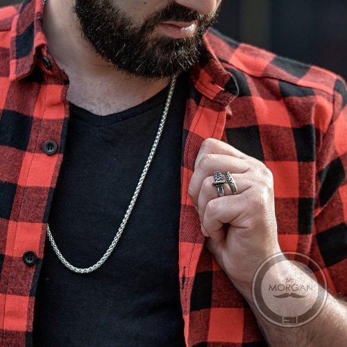 Кольцо в виде катаны R157