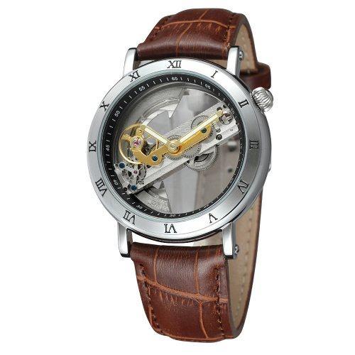 Часы с автоподзаводом Skeleton Renoir W185