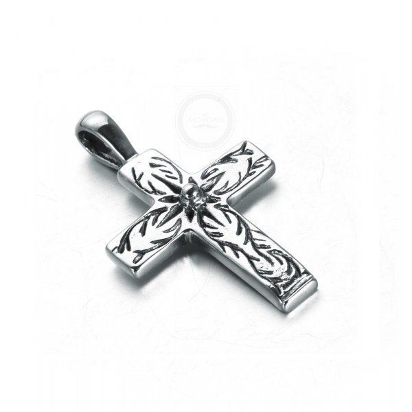Крест аккуратный из стали K396