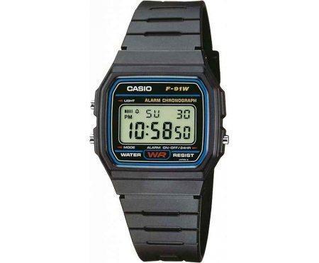 Часы наручные Casio F91W-1YEG