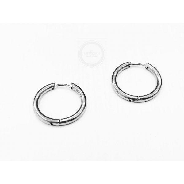 Мужские серьги кольца 14 мм SE1784