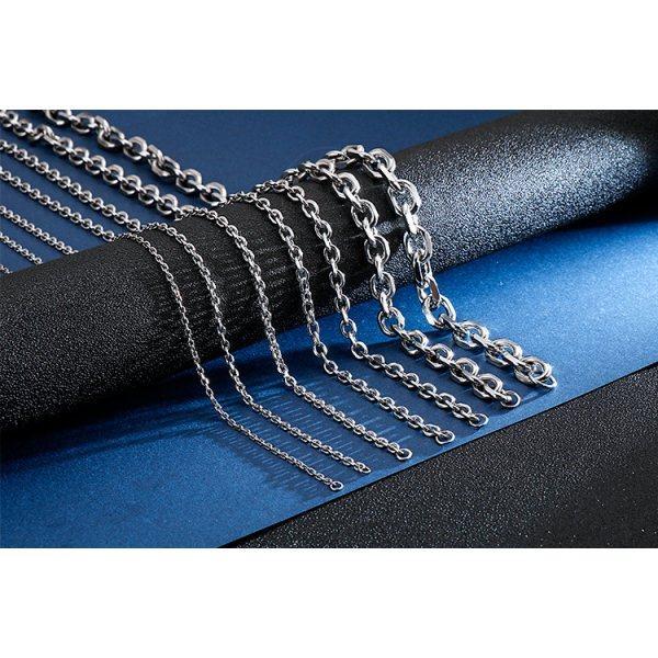 Цепь массивная якорного плетения 11 мм C092