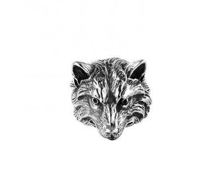 Печатка с головой волка R254
