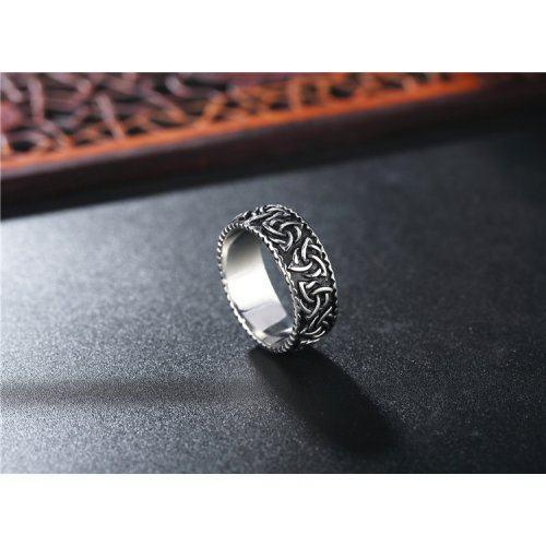 Кольцо с узором из трикселей R257