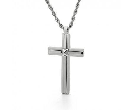 Крест геометрический из стали K477