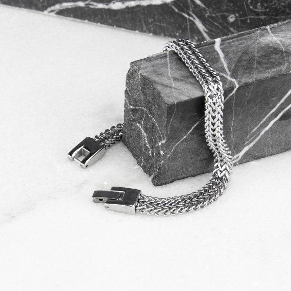 Браслет якорного плетения двойной SB294