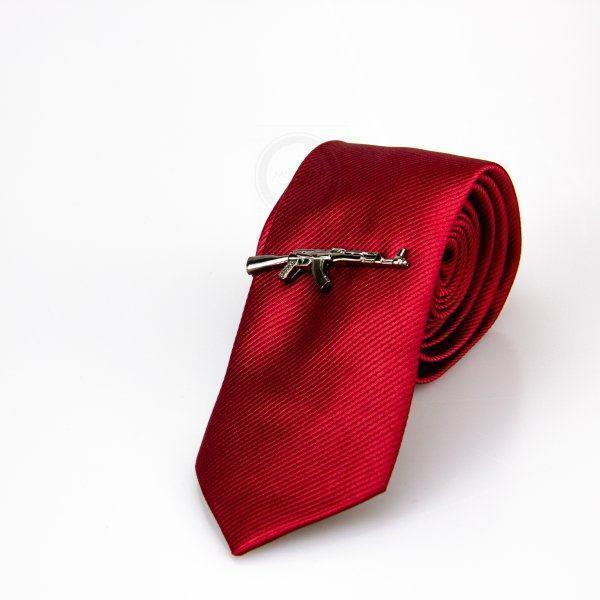 Зажим для галстука в виде автомата Z166