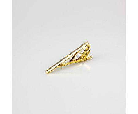 Зажим для галстука золотистый Z178