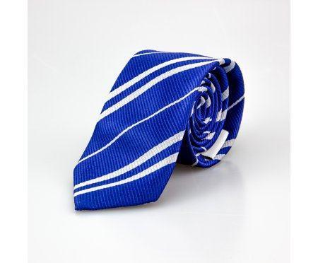 Галстук синий в полоску NT59