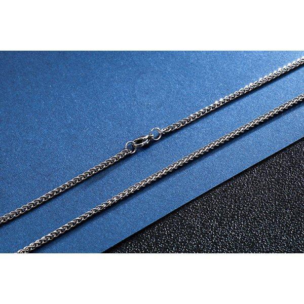 Тонкая цепочка из стали якорного плетения C115