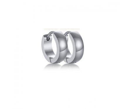 Серьги кольца из стали 12 мм SE1791