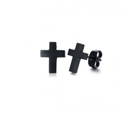 Серьги гвоздики в виде крестов SE1796