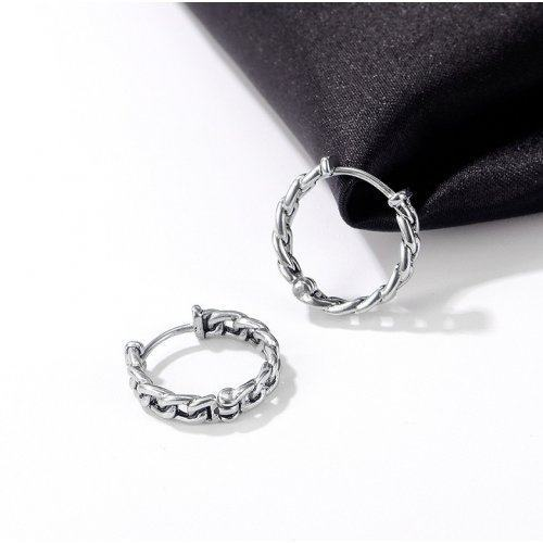 Серьги-кольца в виде цепи 16 мм SE1090