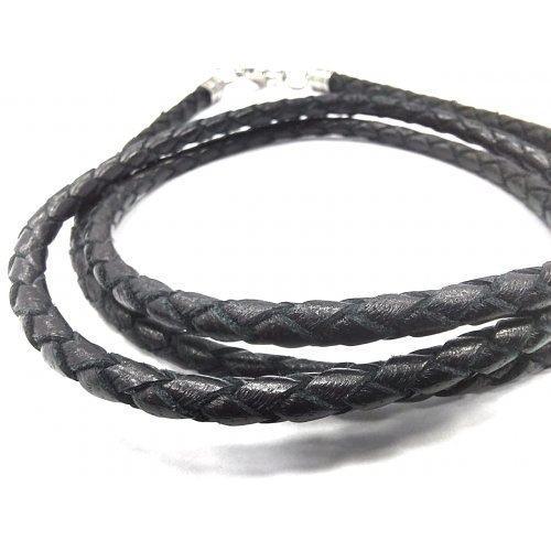 Шнур ручной работы из натуральной кожи 5 мм CH228