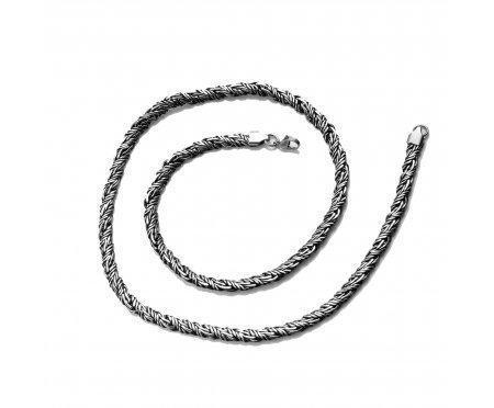 Цепочка веревочного плетения C119